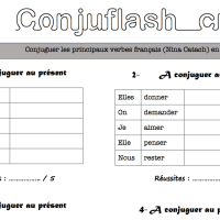 Rituel de conjugaison : Conjuflash Cycle 3